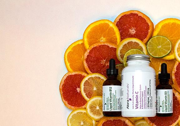 Vitamin C D B12